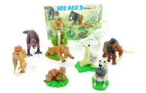 Alle 10 Figuren von ICE AGE 3 mit einem BPZ (Sätze Deutschland)