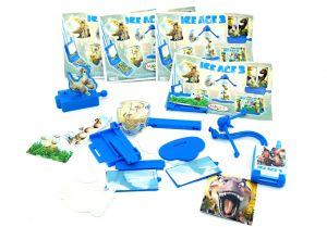 Spielzeug Satz von ICE AGE 3 mit 5 Spielzeugen zur Serie