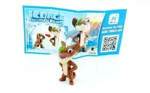 Buck von Ice Age 5 - Kollision voraus mit Beipackzettel