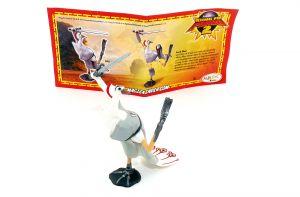 Lord Shen mit deutschen Beipackzettel (Kung Fu Panda 2)