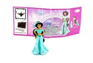 Jasmin mit deutschen Beipackzettel aus dem Ü-Ei (Prinzessinnen)