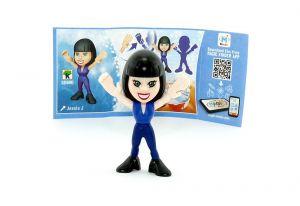 Jessie J mit Beipackzettel von den TEEN IDOLS (SD690)