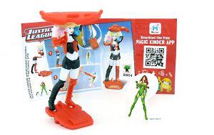 Harley Quinn von den Justice League mit Beipackzettel DV414