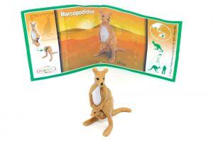 Natoons Tiere aus aller Welt Kangaroo - känguru mit Beipackzette
