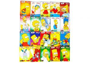 Simpsons Karten Set von Kelloggs [ALLE 20 KARTEN VON KELLOGG 'S]