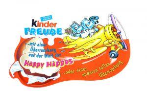 Kinder Freude Happy Hippo Hochzeit (Palettenanhänger)