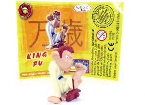 King Fu mit komplett gelben Grundmaterial (Zoff im Affenstall)