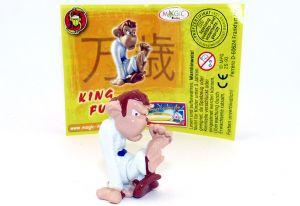 King Fu mit komplett weißen Grundmaterial (Zoff im Affenstall)