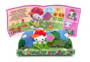Kitty im Garten mit Zubehör (Hello Kitty - FF329)