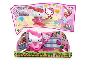 Kitty feiert eine Party mit Zubehör (Hello Kitty - FF331)