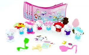 Hello Kitty aus Russland mit Farbvarianten mit allen Beipackzetteln