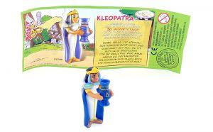 Kleopatra mit deustchen Beipackzettel (Asterix Geburtstag)