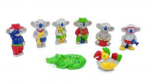 8 Koala Figuren von der Firma Schöller aus dem Jahr 1996