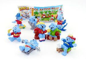 Koala COOL ACTION. 8 Figuren und ein BPZ [Firma Küchenmeister]