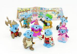 Koala RITTER - Bärenburg. 8 Figuren und ein Beipackzettel [Firma Küchenmeister]