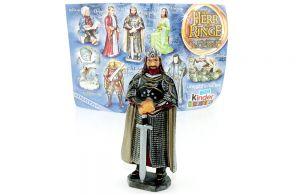 Aragorn als König mit Beipackzettel (Herr der Ringe III)