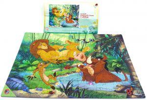 Maxi Ei Puzzle König der Löwen mit Beipackzettel (Puzzle)
