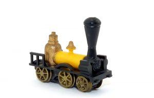 Goliath 1822 aus der Serie Historische Dampflokomotiven mit Metallrädern von 1980.