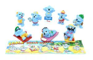Koala DREAM HOLIDAY. 8 Figuren und ein BPZ [Firma Küchenmeister]