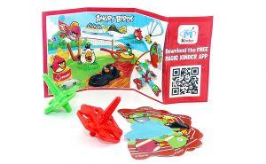 KREISEL mit Beipackzettel FF140 (Die Angry Birds)