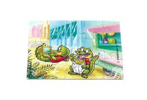 Puzzleecke von den Crazy Crocos oben rechts