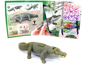 Krokodil aus der Serie Natoons North Amerika (BPZ - VU341)