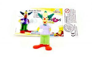 Krusty der Clown mit deutschen Beipackzettel (The Simpsons)