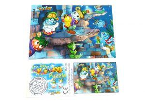 Kukomons Puzzleecke oben links mit Beipackzettel