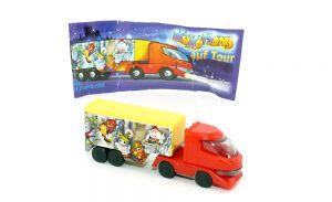 Truck der Kukomons mit Beipackzettel (Ü-Ei Truck)