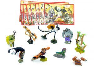 Kung Fu Panda Figuren mit allen Beipackzetteln (Komplettsatz Ausland)