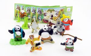 Kung Fu Panda 3 aus Russland inkl. allen Beipackzetteln