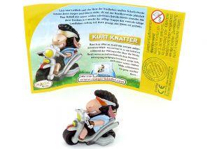 Kurt Knatter mit deutschen Beipackzettel (Gute Schafe wilde Schafe)
