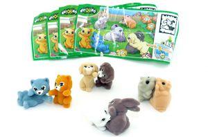 Natoons - flauschige süße Tierkinder mit allen Beipackzetteln