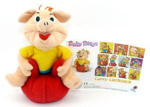 Larry Lachsack von den Pinky Piggys aus dem Maxi Ei (Plüschfigur)