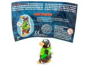 Lady Charme mit Beipackzettel aus der Serie Mission Maulwurf