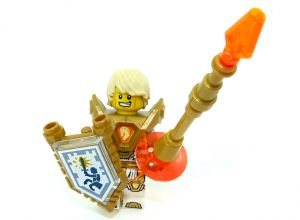 LEGO Nexo Knights Lance Minifigure (Set 271828)