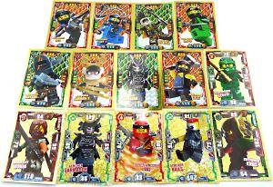 Lego Ninjago TCG 14 unterschiedliche LE Karte aus den Serien 2 , 3 , und 4 - alles limitierte Karten