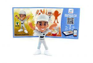 Lewis Hamilton mit Beipackzettel von den TEEN IDOLS (SD726)
