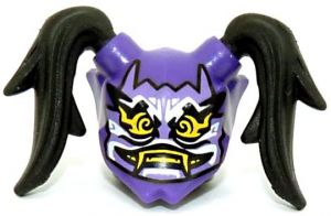 LEGO Ninjago Lila Ninjago Oni Maske der Täuschung