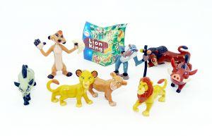 8 Lion King Figuren von Nestle mit Beipackzettel