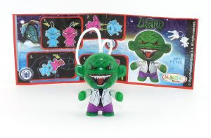 Lizard mit Beipackzettel (Marvel Twistheads)