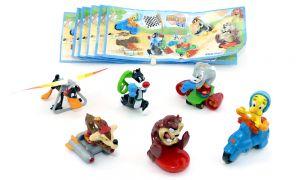 Looney Tunes Active Race Figurensatz mit Zetteln (Sätze Europa)