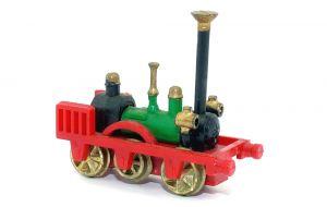 Patentee Lok von 1837 aus der Serie Historische Dampflokomotiven mit Metallrädern von 1980.