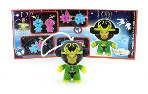 Loki  mit Beipackzettel FT171 (Marvel Twistheads)