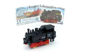 Rangier - Lokomotive mit Beipackzettel
