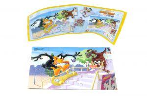 Looney Tunes Activ Puzzleecke Nr. 2 mit Beipackzettel (15 Teile Puzzle)