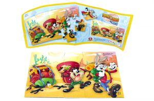 Looney Tunes Active Puzzleecke Nr. 4 mit Beipackzettel (Puzzleecke 15 Teile)