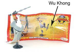 """Lord Shen mit Beipackzettel wo """"Wu Khong"""" drauf steht [Sonderbeipackzettel]"""