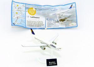 Lufthansa Airbus A330-A300 Flugzeuge (Star Alliance 2014)