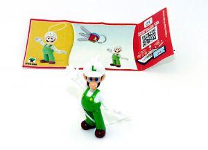 Super Mario sein Freund Luigi in grüner Latzhose - DV549A mit Beipackzettel